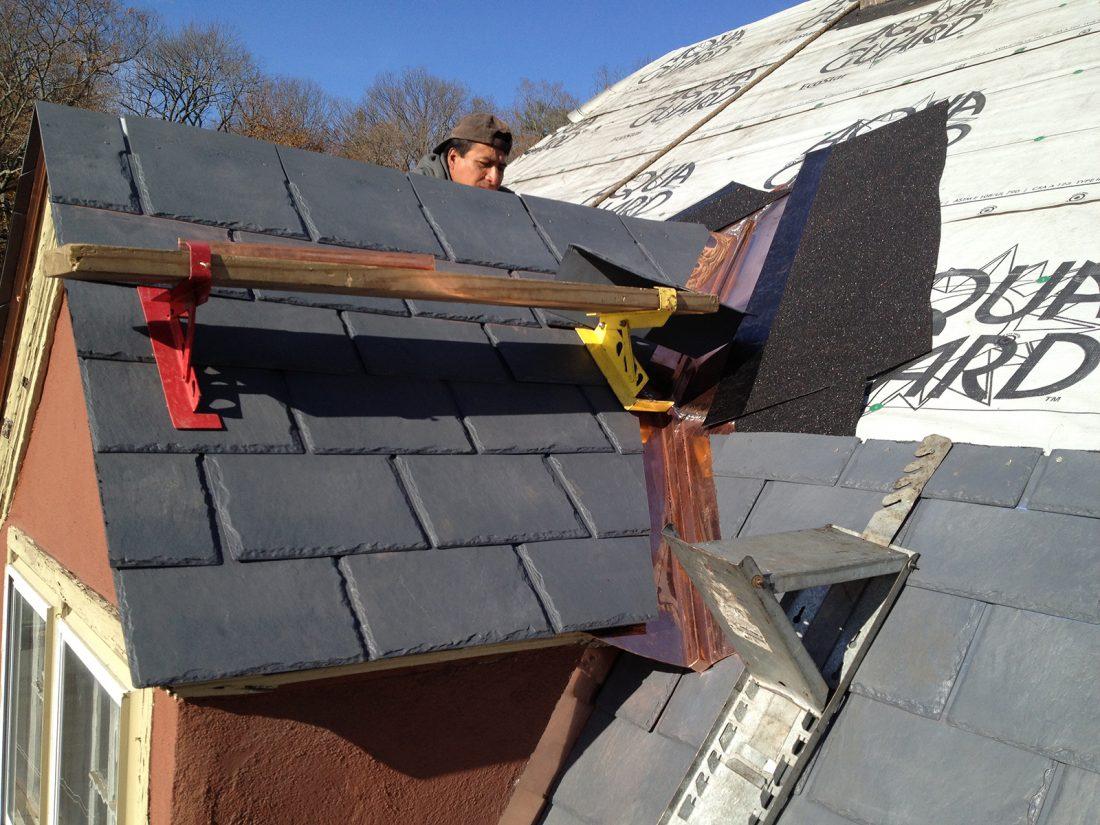 New Eco Star Synthetic Slate Roof Tuxedo Ny J