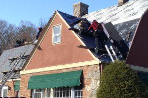 New Eco-Star Synthetic Slate Roof - Tuxedo NY