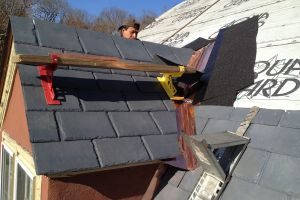 New Eco-Star Synthetic Slate Roof - Tuxedo NY