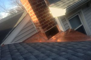 Copper Chimney Flashing - Scarsdale NY