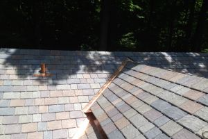 New Slate Roof in Stamford CT