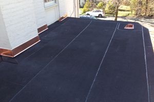 New Flat Roof with Copper Flashing - Bronxville NY