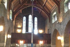 Church Wood Ceiling Repair