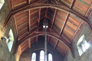 Church Wood Ceiling Repair