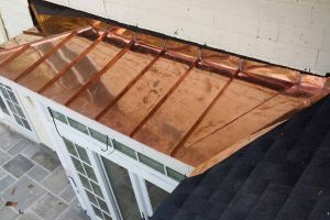 New Copper Bay Roof in Bronxville NY